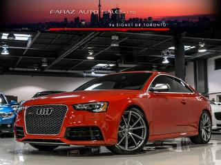 Used 2014 Audi RS5 TECHNIK|SPORT DIFF|BLINDSPOT|CARBON|B&O|LOADED for sale in North York, ON
