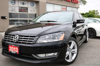 Used 2013 Volkswagen Passat 2.0 TDI Highline Navi. Leather. Roof.Original Car for sale in North York, ON