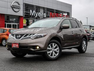 Used 2014 Nissan Murano SL reverse camera leather for sale in Orleans, ON