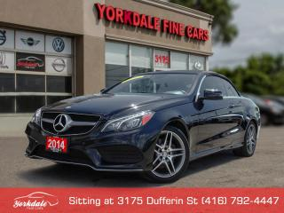 Used 2014 Mercedes-Benz E-Class E 350 Cabroilet. Navigation. Lane Assist for sale in Toronto, ON
