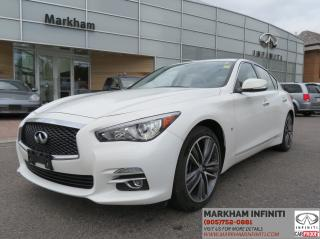 Used 2015 Infiniti Q50 AWD, Limited, Leather, Sunroof, Navi, Camera for sale in Unionville, ON