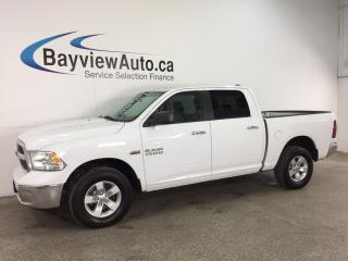 Used 2015 RAM 1500 SLT - HEMI! CREW! ALLOYS! TOW/HAUL! BLUETOOTH! for sale in Belleville, ON