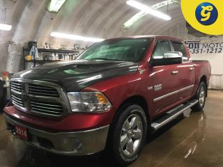 Used 2014 RAM 1500 BIGHORN*CREW CAB*4WD*HEMI*NAVIGATION*BACK UP CAMERA*KEYLESS ENTRY w/REMOTE START*HEATED FRONT SEATS/STEERING WHEEL*POWER DRIVER SEAT*U CONNECT PHONE*R for sale in Cambridge, ON