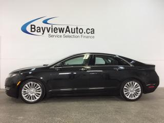 Used 2014 Lincoln MKZ Hybrid Base - REM START! SUNROOF! HTD/AC LEATHER! BLIS! SYNC! for sale in Belleville, ON