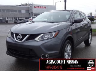 Used 2017 Nissan Qashqai SV FWD|BACKUP CAMERA|BLUETOOTH|FRONT HEATED SEATS| for sale in Scarborough, ON
