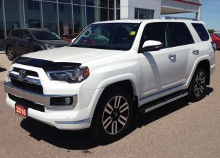 Used 2016 Toyota 4Runner Limited for sale in Renfrew, ON