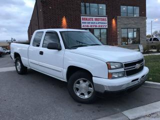 Used 2007 Chevrolet Silverado 1500 EXTENDED CAB LS 4.8L V8 for sale in Etobicoke, ON