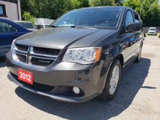 Used 2012 Dodge Grand Caravan Bk-up Camera/Bluetooth/Aux/DVD/Leather Seats for sale in Scarborough, ON