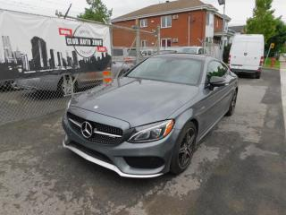 Used 2017 Mercedes-Benz C43 C-Class Coupe Awd for sale in Longueuil, QC