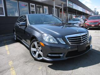 Used 2012 Mercedes-Benz E-Class E350 4MATIC NO ACCIDENTS!!  SUNROOF,HEATED SEATS, LEATHER INTERIOR, WOOD GRAIN INTERIOR, KEYLESS ENTRY, GPS NAVIGATION for sale in Scarborough, ON