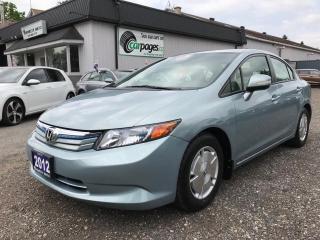 Used 2012 Honda Civic Hybrid for sale in Bloomingdale, ON