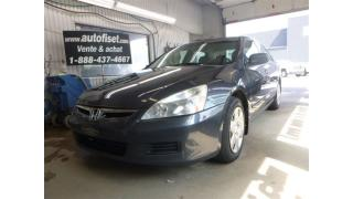 Used 2007 Honda Accord DX-G  autom. cruise, $28.94/sem+taxes for sale in St-Raymond, QC