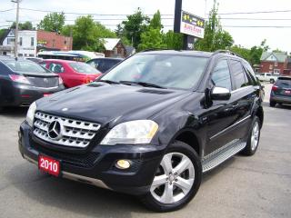 Used 2010 Mercedes-Benz ML 350 Leather,BlueTEC,Bluetooth,Backup Camera,Sunroof for sale in Kitchener, ON