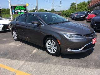 Used 2015 Chrysler 200 Limited for sale in Cobourg, ON