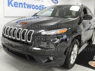 Used 2015 Jeep Cherokee NORTH 4WD High altitude, heated leather seats, heated steering wheel and back up cam. Let us have your back for sale in Edmonton, AB