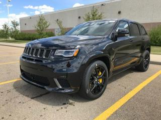 New 2018 Jeep Grand Cherokee Trackhawk 4x4 / GPS Navigation / Panoramic Sunroof / Back Up Camera for sale in Edmonton, AB