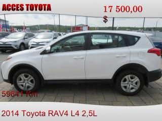 Used 2014 Toyota RAV4 for sale in Rouyn-Noranda, QC