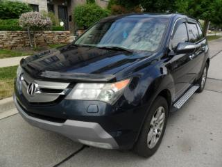 Used 2009 Acura MDX AWD, 7PASSENGER, LEATHER, SUNROOF,CERTIFIED for sale in Etobicoke, ON