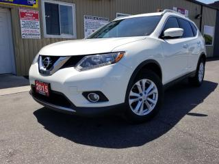 Used 2015 Nissan Rogue SV-PANORAMIC SUNROOF-REVERSE CAMERA-ALLOY WHEELS for sale in Tilbury, ON