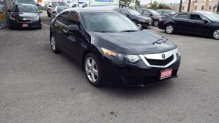 Used 2009 Acura TSX w/Tech Pkg/SUNROOF/PUSH BUTTON START/$$$9999 for sale in Brampton, ON