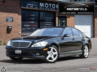 Used 2008 Mercedes-Benz S-Class S450 4Matic AMG *ONTARIO CAR | NO ACCIDENTS | NAV* for sale in Scarborough, ON