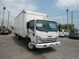 Used 2008 GMC 5500 Cube Van 4 cylinder Isuzu Engine 20 ft box Auto for sale in Oakville, ON