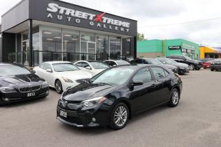 Used 2014 Toyota Corolla LE +LEATHER +ROOF +ALLOYS for sale in Markham, ON