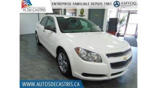 Used 2011 Chevrolet Malibu LS for sale in Châteauguay, QC