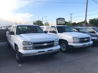 Used 2007 Chevrolet Silverado 1500 2 AVAILABLE EXTENDED CABS for sale in Etobicoke, ON