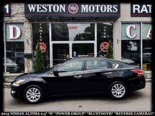 Used 2015 Nissan Altima 2.5 S*POWER GROUP*BTOOTH*REVERSE CAMERA*LOW KM!!!* for sale in York, ON