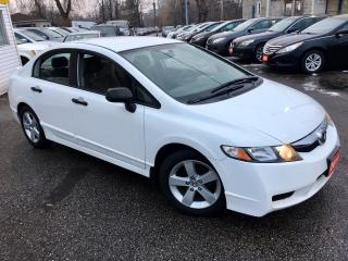 Used 2011 Honda Civic DX-G/ AUTO/ POWER GROUP/ ALLOYS/ LIKE NEW! for sale in Scarborough, ON