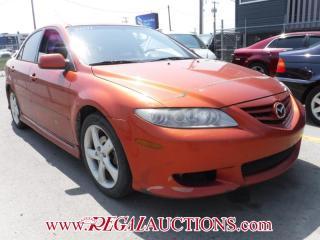 Used 2004 Mazda MAZDA6  4D SEDAN V6 for sale in Calgary, AB