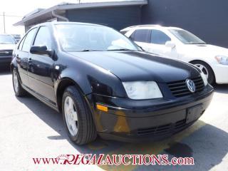 Used 2000 Volkswagen JETTA GLS 4D SEDAN for sale in Calgary, AB