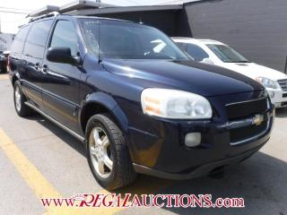 Used 2006 Chevrolet UPLANDER LT 4D EXT WAGON for sale in Calgary, AB