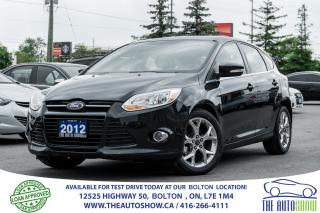 Used 2012 Ford Focus SEL 5DR 5-SPEED NAVIGATION GPS 1 OWNER for sale in Caledon, ON