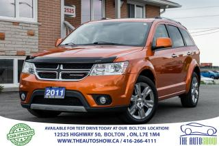 Used 2011 Dodge Journey R/T AWD LEATHER SUNROOF GPS NAVIGATION 19