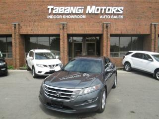 Used 2011 Honda Accord Crosstour EX-L | NAVIGATION | LEATHER | SUNROOF | AWD | BLUETOOTH for sale in Mississauga, ON