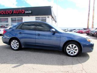 Used 2011 Subaru Impreza 2.5i AWD SEDAN 5 SPEED MANUAL CERTIFIED 2YR WARRANTY for sale in Milton, ON