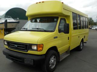 Used 2007 Ford Econoline E-350 Super Duty 7 Passenger Bus Diesel with Wheelchair Accessibility for sale in Burnaby, BC