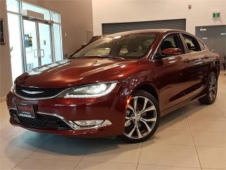 Used 2016 Chrysler 200 C-AUTO-CAMERA-LEATHER-BLUETOOTH-ONLY 13KM for sale in York, ON
