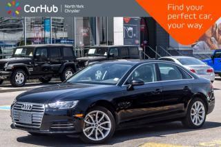 Used 2017 Audi A4 Progressiv  Nav BackUpCam Pk.Asst. Leather HeatFrntSeats 18
