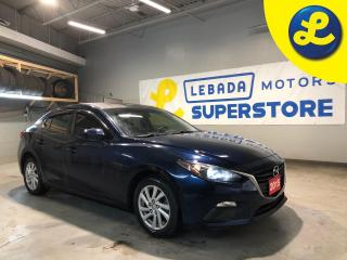 Used 2015 Mazda MAZDA3 Sky Activ Technology * Push Button Start * AM/FM/CD/USB * 12V DC Outlet * Cloth Seats * Window Rain Visors * Hands Free Calling * Steering Wheel Contr for sale in Cambridge, ON