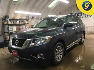 Used 2013 Nissan Pathfinder SL*PANORAMIC ROOF*LEATHER*BACK UP CAMERA*7 PASSENGER*PUSH BUTTON IGNITION*PHONE CONNECT*POWER REAR LIFT GATE*POWER FRONT SEATS*HEATED FRONT/REAR SEATS for sale in Cambridge, ON