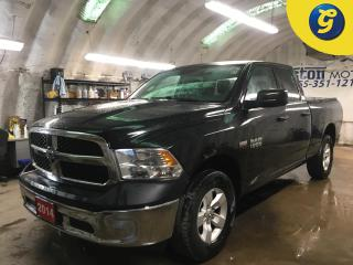 Used 2014 RAM 1500 SXT*QUAD CAB*4X4*HEMI*TONNEAU COVER*ALLOYS*HITCH RECEIVER w/PIN CONNECTOR*LINE X BOX LINER* for sale in Cambridge, ON