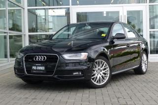 Used 2015 Audi A4 2.0T Komfort quattro 8sp Tiptronic *S-Line* for sale in Vancouver, BC