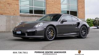Used 2015 Porsche 911 Turbo S Coupe PDK | PORSCHE CERTIFIED for sale in Vancouver, BC
