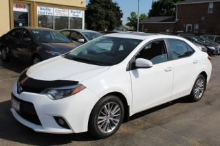 Used 2014 Toyota Corolla LE SUNROOF ALLOY WHEELS for sale in Brampton, ON