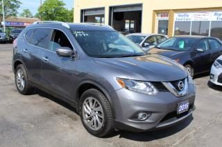 Used 2015 Nissan Rogue SL Panorama Roof Navi Leather for sale in Brampton, ON