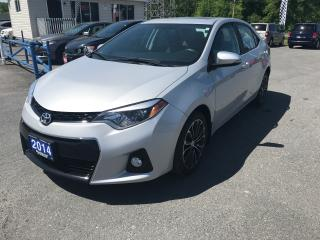 Used 2014 Toyota Corolla S for sale in Cornwall, ON