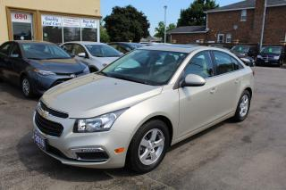 Used 2016 Chevrolet Cruze LT Leather Sunroof Backup Cam for sale in Brampton, ON